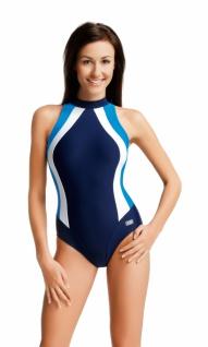 Badeanzug | Schwimmanzug OLIVIA II navy/blau/weiss