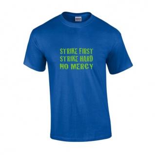 T-Shirt STRIKE FIRST blau-grün