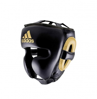 adidas Kopfschutz adistar Pro schwarz|gold