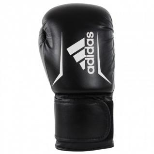 adidas Speed 50 schwarz/weiß Boxhandschuhe