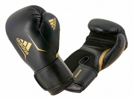 adidas Boxhandschuhe Speed 100 schwarz/gold