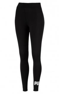 Puma ESS Logo Leggings Damen schwarz