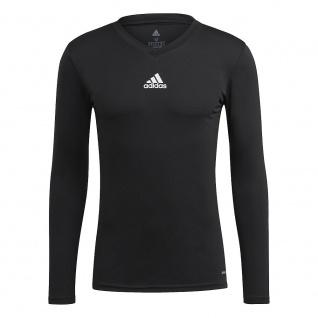 adidas T-Shirt langarm Team Base schwarz