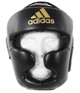 adidas Kopfschutz SPEED Super Pro schwarz|gold