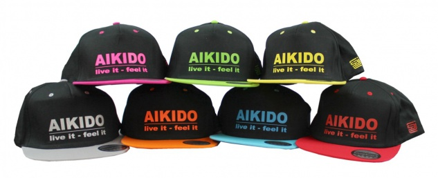 Snapback Cap - Aikido live it - feel it