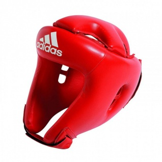 adidas Boxen/Kickboxen Kopfschutz Kids - Rookie rot