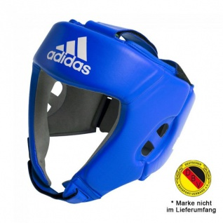 adidas Kopfschutz AIBA Leder blau