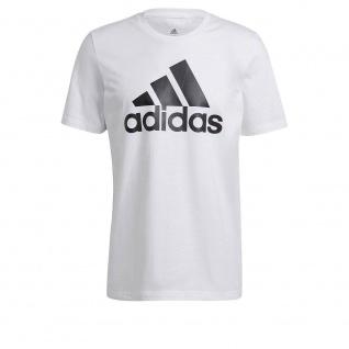 adidas T-Shirt BL weiß