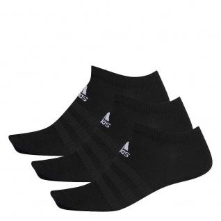 adidas 3er Pack Sneakersocken schwarz