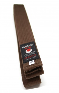 Braungurt 1. Class Kamikaze Baumwolle