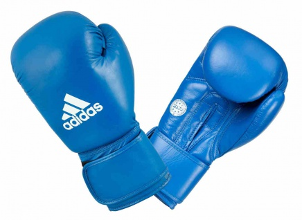 adidas Boxhandschuh Competition Leder blau 10 OZ