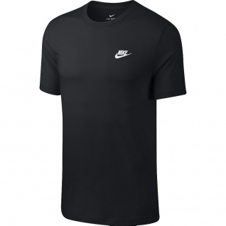 NIKE Club T-Shirt schwarz