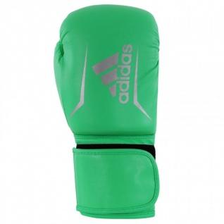 adidas Speed 50 grün/silber Boxhandschuhe