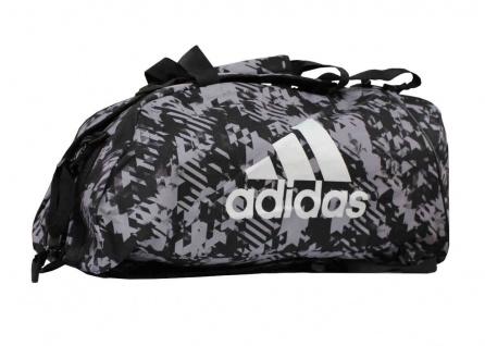 adidas Sporttasche - Sportrucksack Camouflage schwarz/silber