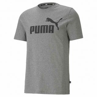Puma T-Shirt ESS Logo Tee grau
