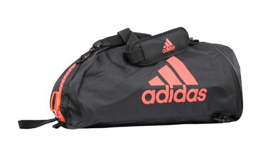 adidas Sporttasche - Sportrucksack schwarz/rot