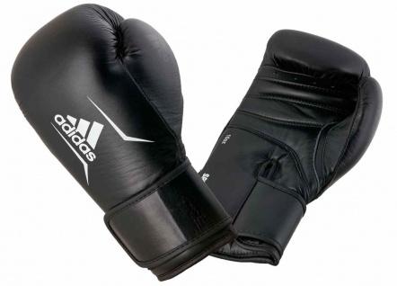 adidas Boxhandschuh Speed 175 Leder schwarz