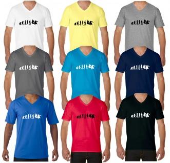 V-Neck Shirt Evolution Aikido