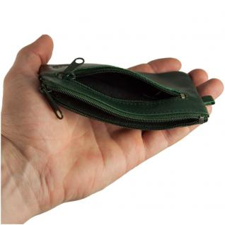 Branco - Großes Schlüsseletui / Schlüsselmäppchen aus Leder, Jäger-Grün, Modell 018 - Vorschau 4
