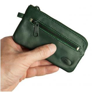 Branco - Großes Schlüsseletui / Schlüsselmäppchen aus Leder, Jäger-Grün, Modell 018 - Vorschau 1