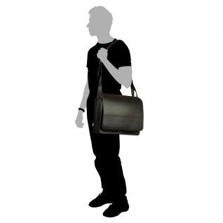 Jahn-Tasche - Große Aktentasche / Lehrertasche Größe XL aus Leder, Schwarz, Modell 675 - Vorschau 4