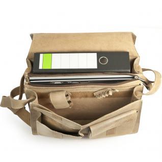 Jahn-Tasche - Große Aktentasche / Lehrertasche Größe XL aus Büffel-Leder, Creme-Beige, Modell 676 - Vorschau 2