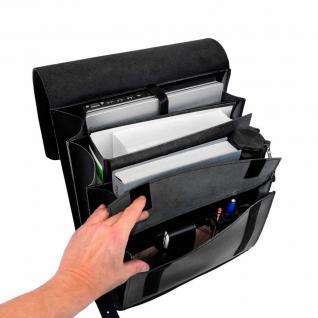 Jahn-Tasche - Sehr Großer Lederrucksack / Lehrer-Rucksack Größe XL aus Leder, Schwarz, Modell 670 - Vorschau 4
