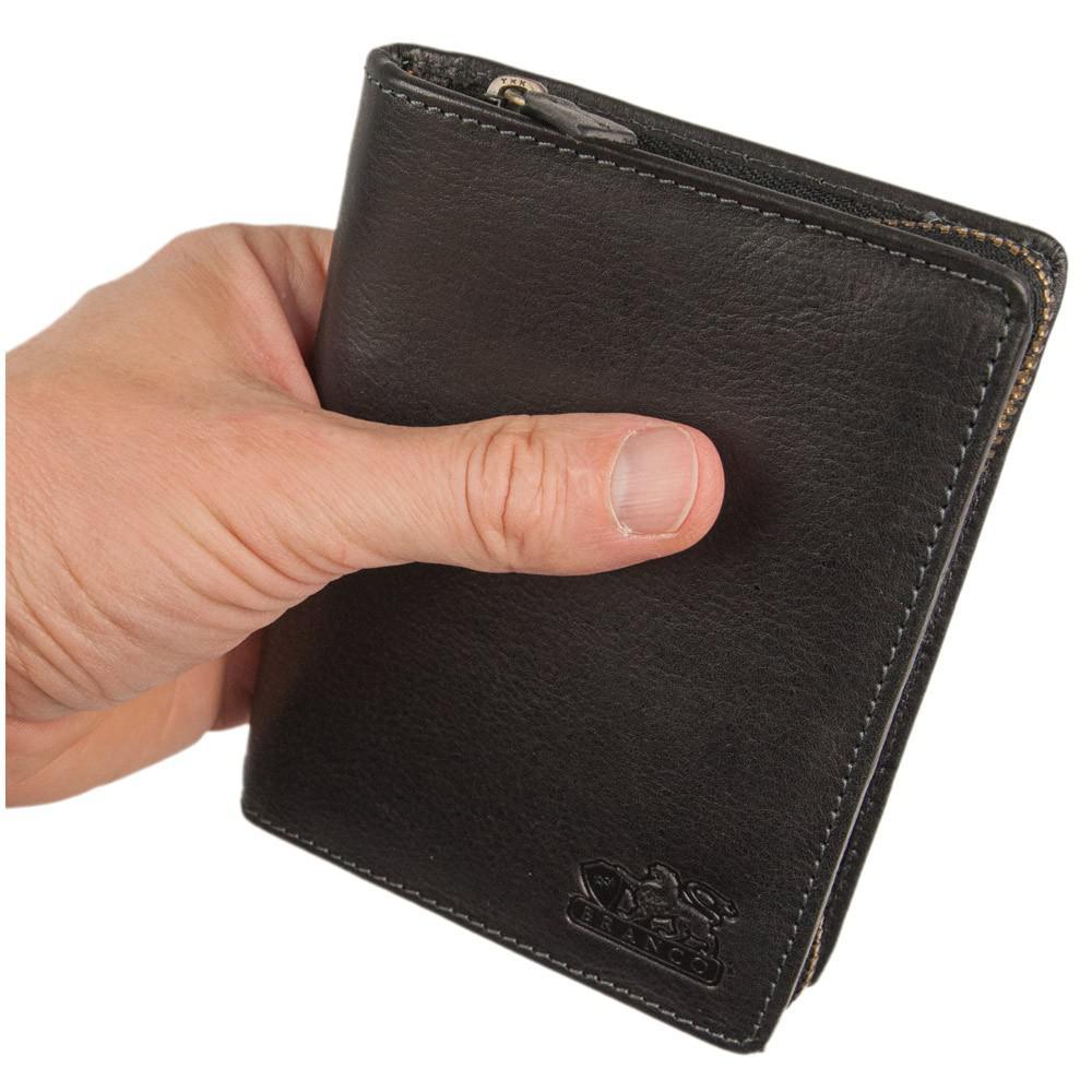 5a51e4a30eabf Branco - Große Geldbörse   Portemonnaie Größe L für Herren aus Leder ...
