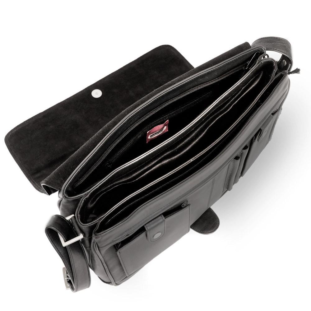 6ea4bbcdae810 Branco - Damen-Handtasche Größe M   Umhängetasche aus Echt-Leder ...