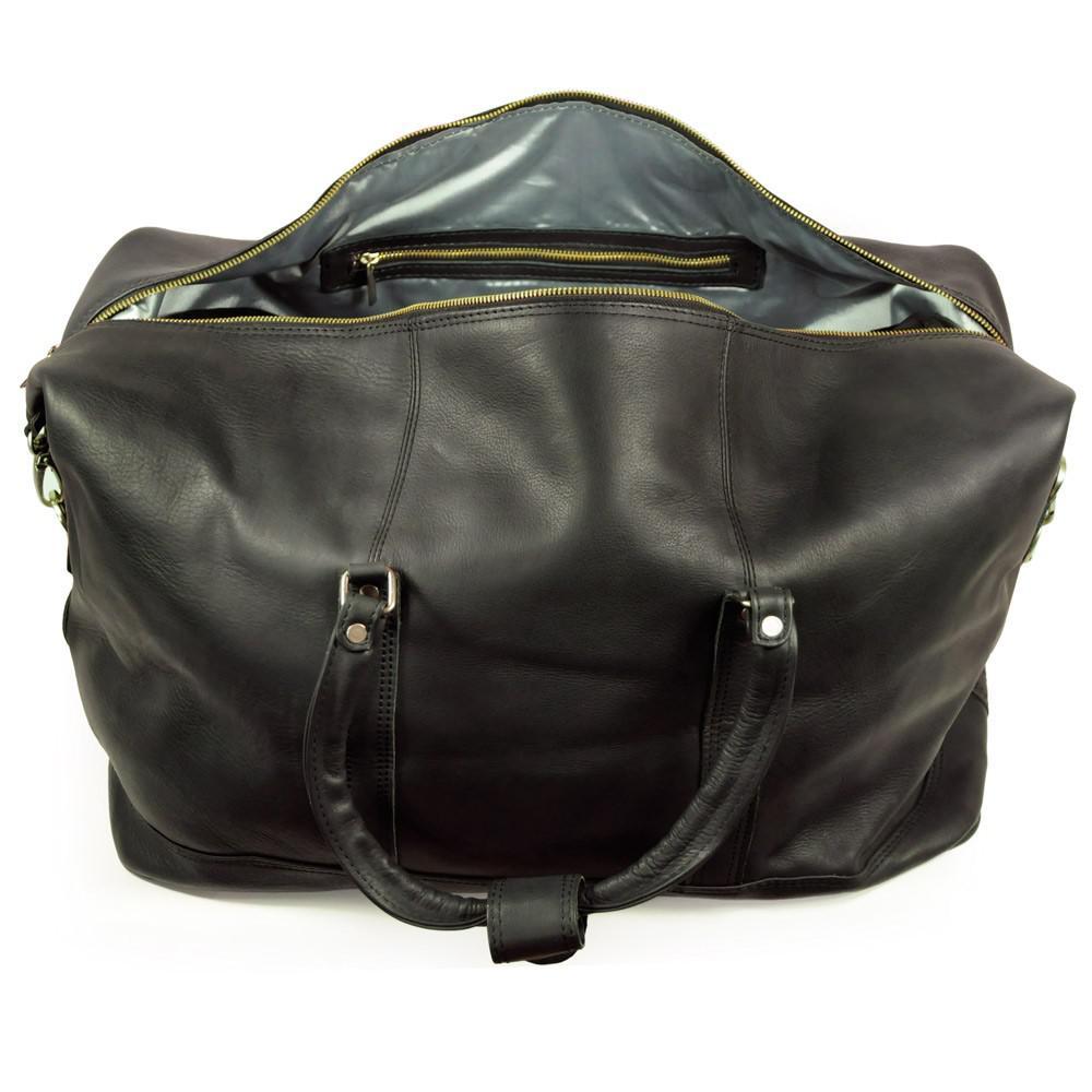 jahn tasche gro e reisetasche weekender gr e l aus nappa leder schwarz modell 697. Black Bedroom Furniture Sets. Home Design Ideas