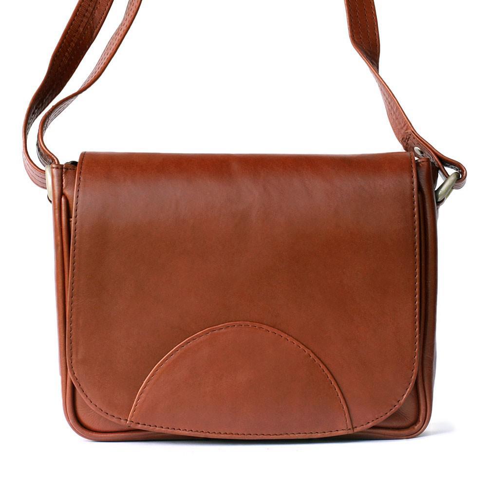 bc4532fb3c318 Hamosons - Kleine Damen-Handtasche Größe XS   Umhängetasche aus geöltem  Leder