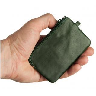 Branco - Kleines Schlüsseletui / Schlüsselmäppchen aus Leder, Jäger-Grün, Modell 019 - Vorschau 2