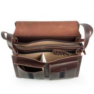 Jahn-Tasche - Große Aktentasche / Lehrertasche Größe XL aus Leder, Braun, Modell 675 - Vorschau 5