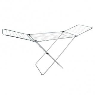 Wäschetrockner 20 Meter Wäscheständer Flügelwäschetrockner Wäscheleine Metall - Vorschau 2