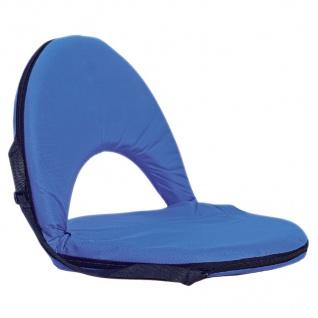 Tragbares Sitzkissen mit Rückenlehne Sitzpolster Strandkissen Camping Fußball