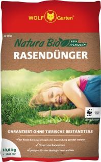 """Wolf WOLF Garten Rasendünger ,, Natura Bio"""" 3734746 RasendÜnger Nr10, 8"""