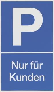 """METAFRANC SCHILD Hinweis-, Warn- und Verbotsschild ,, Parkplatz Kunde"""" 500190 Parkplatz Kunde"""