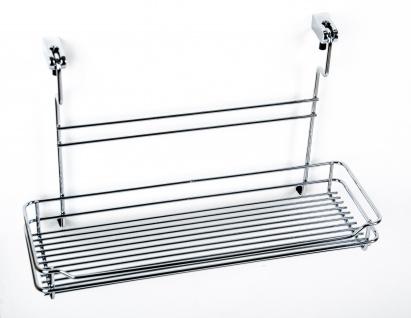 Wesco Relingsystem Halter-Set Küchenreling Ablage Küchenleiste Gewürzregal Regal