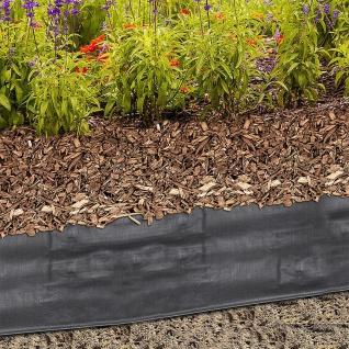 Rindenmulchfolie Gartenvlies 1, 2x10m