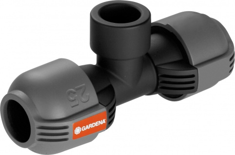"Gardena T-Stück ,, Sprinkler-System"" 2790-20 Sprinkl.t-stueck 25"