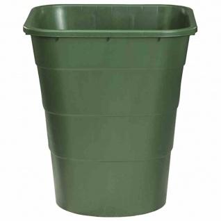 Regentonne rechteckig 210l 79x60, 5x68cm, grün