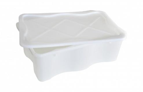 Multibox transparent mit Deckel