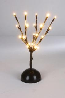 LED Zweig 30cm Dekostrauch Lichterzweig Weihnachtsdeko Leuchtdeko Leuchtzweig