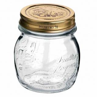 "Glas "" Quattro Stagioni"" 250 ml mit Deckel 70 mm Ø"