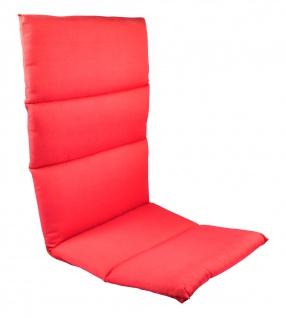 Rollstepp Hochlehner Polsterauflage Gartenstuhl Sitzkissen Sesselauflage Auflage