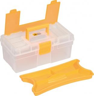 """allit MCPLUS Kunststoffkoffer ,, McPlus Clear 12.5"""" 416400 12.5 Orange"""