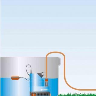 Klarwasser Tauchpumpe 7000 Pumpe Klarwasserpumpe Garten Terrasse Teich Brunnen