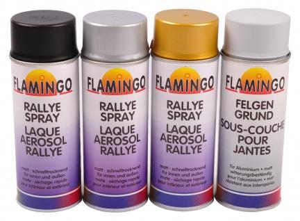 Flamingo Rallye-Spray matt 400ml Felgenlack Lackspray Farbspray Grundierung