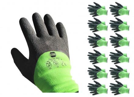 RECA Thermo Plus Arbeitshandschuhe 12x Gr.11 Winterhandschuhe Schutzhandschuhe