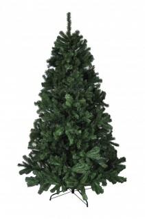 BURI® Weihnachtsbaum 180cm grün Christbaum Tannenbaum Kunsttanne Kunstbaum Tanne